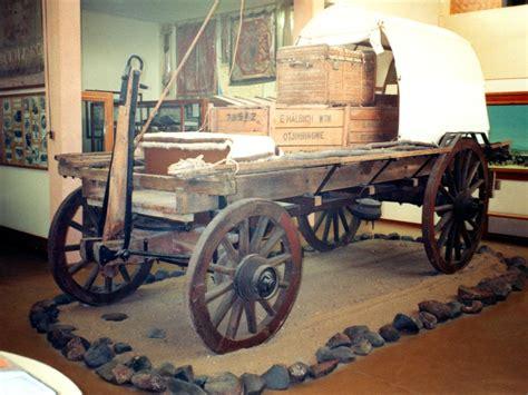 Otjimbingwe wagon in the Swakopmund museum   Swakopmund