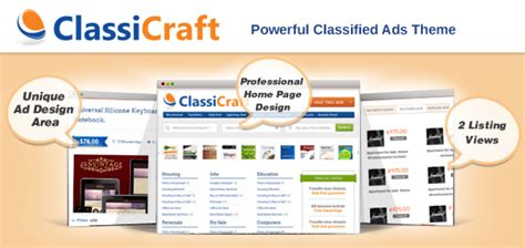 Online Learning Solutions Classified Ad Website Template Classified Listing Website Template