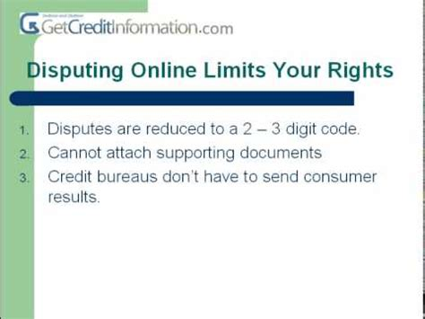 Credit Card Dispute Rebuttal Letter The Quot No No Quot With Credit Dispute Letters
