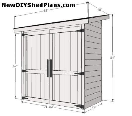 if you just need a small shed to place garden equipment how to build a cheap storage shed or