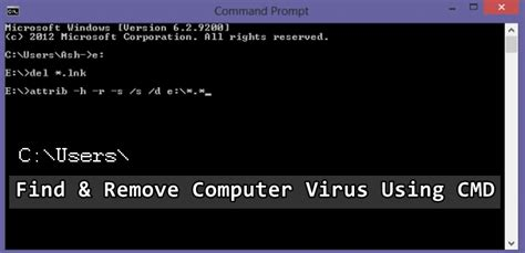 How To Find Through Email How To Find And Remove Computer Virus Using Command Prompt 187 Techworm