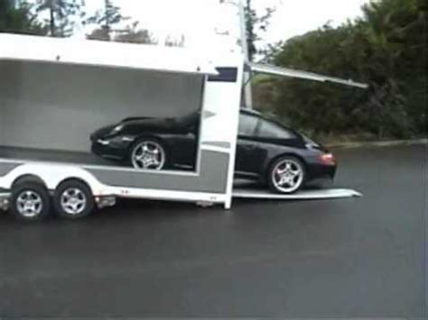 semi remorque porte voiture remorque porte voiture ferm 233 e basculante verene