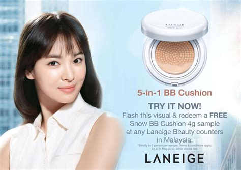 Laneige Bb Cushion Counter free sle malaysia free laneige bb cushion 4g sle