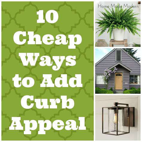 Ways To A Style Home by 10 Cheap Ways To Boost A Builder Grade S Curb Appeal