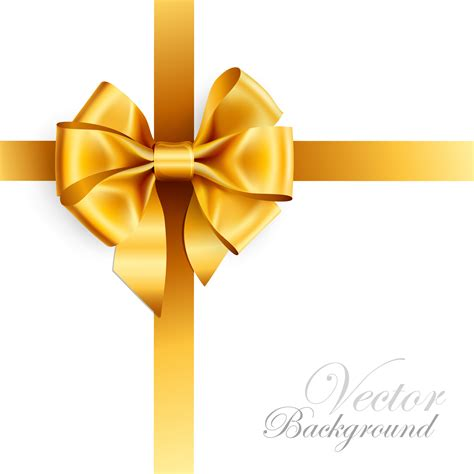 gold christmas bow clipart clipart suggest