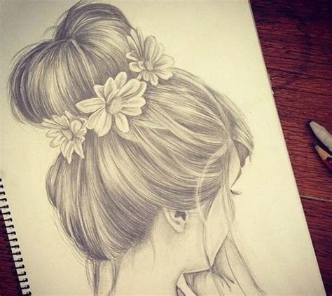 girl hairstyles drawing tumblr hair drawing image 2005739 by ksenia l on favim com