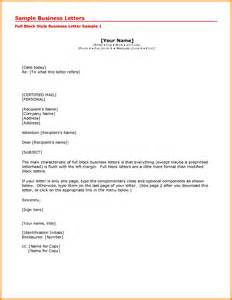Business Letter Format Your Address business letter format attn line sample business letter