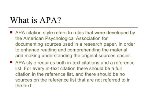 Apa Essay References by Citing Sources In Essay Apa