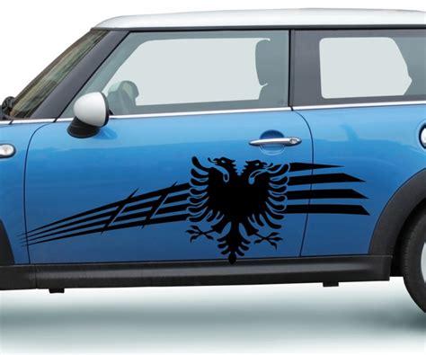 Autoaufkleber Seite by 2x Autoaufkleber Albanischer Adler Albanien Shqiponj 235