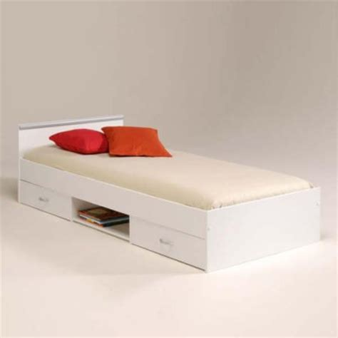 bed frames for teens abe teens storage single bed frame in white special