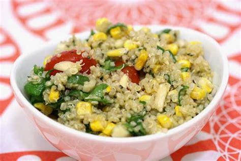 whole grains quinoa recipes corn quinoa whole grain salad recipe in the kitchen