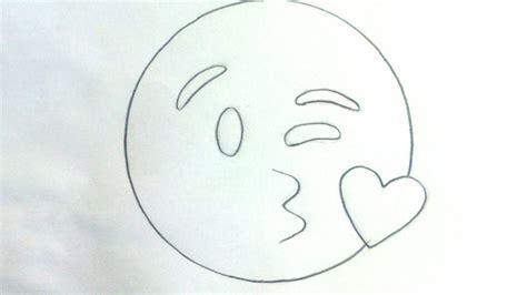 imagenes de emojis para dibujar emoticones whatsapp c 243 mo dibujar el emoji beso a l 225 piz