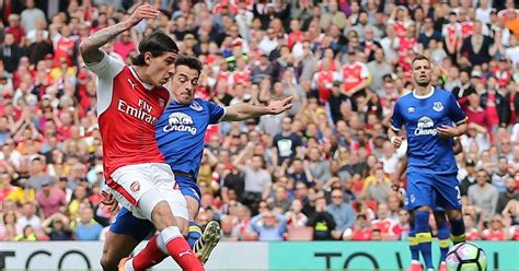 arsenal everton player ratings arsenal 3 1 everton player ratings hector bellerin