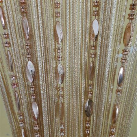 beaded string curtains tangpan 100cmx200cm bright buttons beaded decorative