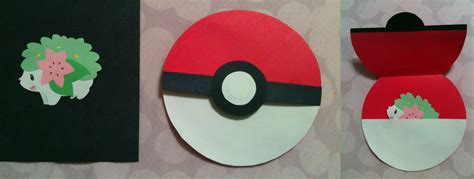 Papercraft Pokeball - shaymin and pokeball papercraft by saandstoorm on deviantart