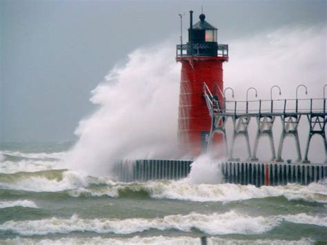 houses of light south haven lighthouse south haven mi lighthouses pinterest
