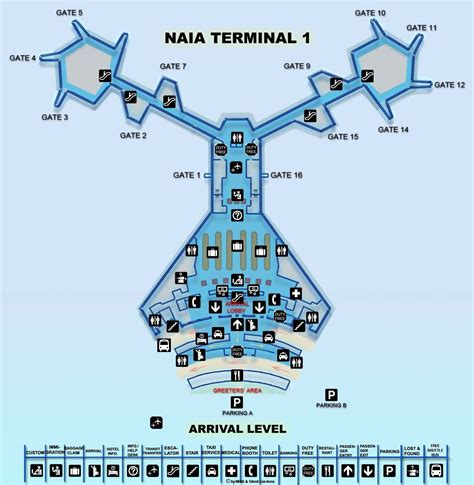 naia terminal 1 floor plan naia terminal 1 floor plan terminal home plans picture
