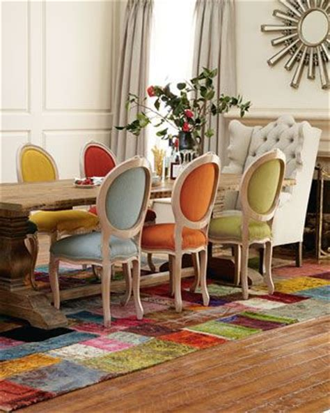 colorful dining room sets 25 best ideas about mixed dining chairs on pinterest
