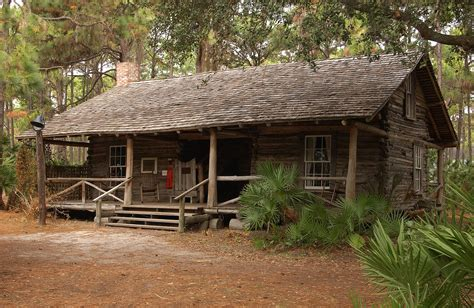 Cabins Florida by Pinellas County Florida Communications Photo Library
