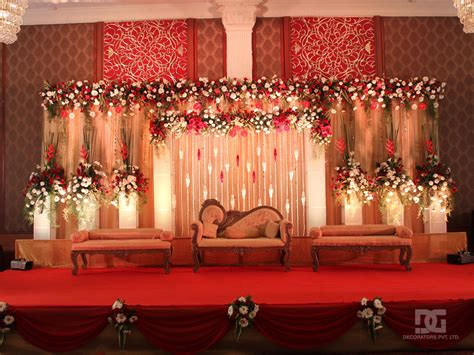 Decoration Pictures by Wedding Decoration Indoor Stage Backdrop