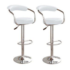 kitchen bar stools uk brand new pair of broadway white faux leather breakfast