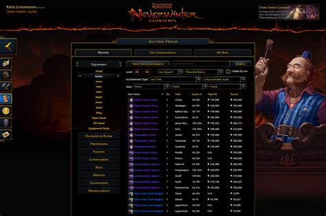 neverwinter auction house neverwinter auction house 28 images tarmalune auction house neverwinter wiki