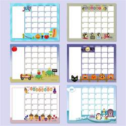 preschool monthly calendar template 6 best images of free printable preschool calendar