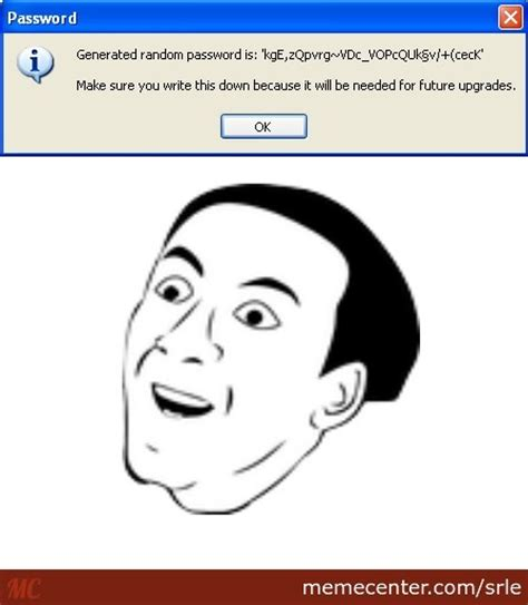 Password Meme - you don t say password by srle meme center