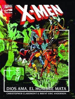 libro x men god loves man tiendascosmic c 243 mics x men dios ama el hombre mata