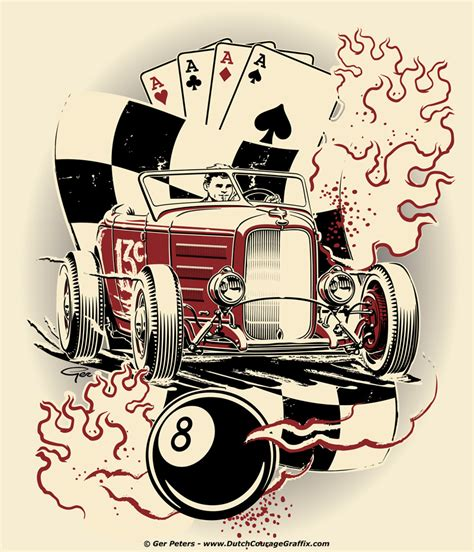 rat rod tattoo designs idea for andr 233 laubach hotrod rod