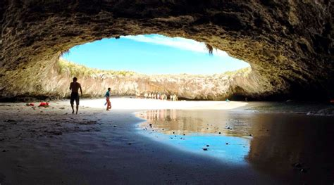 hidden beach in marieta mexico world s unusual beaches to visit for your bucket list
