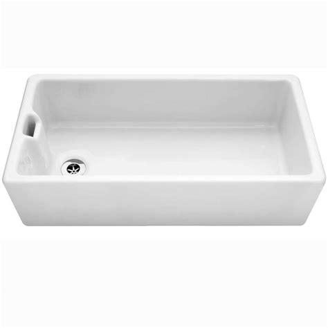 kitchen sink co caple belfast 915 ceramic single bowl sink kitchen