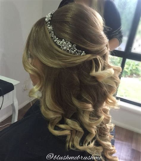 Wedding Hairstyles Half Up Half With Headband by Half Up Half Wedding Hairstyles Best Cuts Ideas