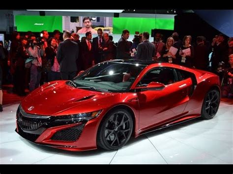 Acura Sports Cars 2016 Honda Nsx Acura Sport Car Hybrid Preview