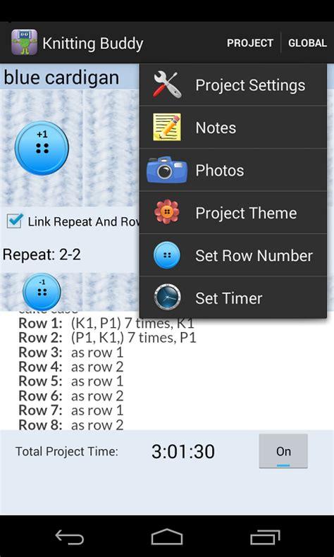 android knitting pattern apps tejido de punto y crochet bud aplicaciones de android en