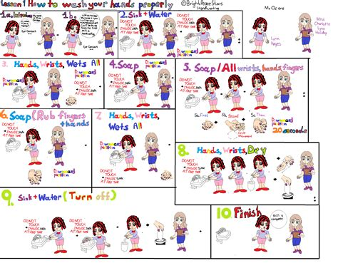 how to properly your lesson 1 how to wash your properly by brightpeacestars on deviantart