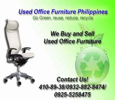 we buy and sell used office furniture used office
