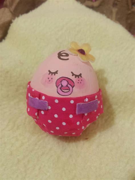 decorar huevos de navidad huevo decorado como bebe pascua bebe huevo pinterest