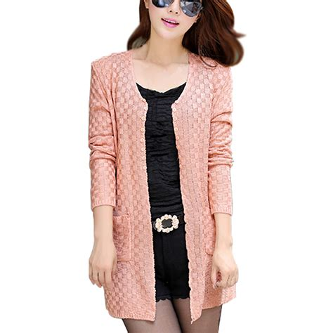 New Kardigan syb 2016 new sweater cardigan fashion sleeve thin knitted cardigan
