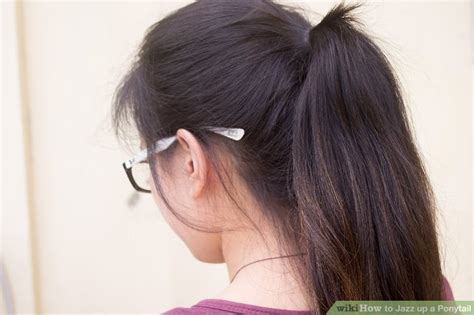 how to jazz up a ponytail with pictures wikihow how to jazz up a ponytail with pictures wikihow