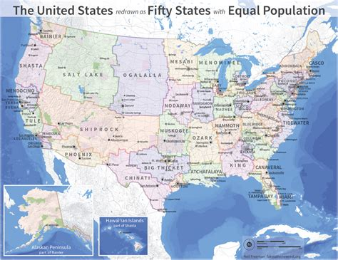 new 50 states map a map of an alternate usa a cartoonist in kekionga