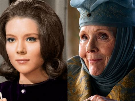 game of thrones actress rigg what the game of thrones actors in their earliest roles