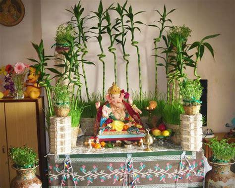 Garden Decoration For Ganpati by Amazing Ganesha Decoration Ideas For Ganesh Chaturthi