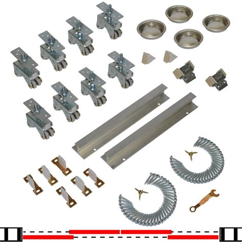 Johnson Bypass Door Hardware by Johnson Hardware 200sd Series 96 In Track And Hardware
