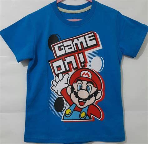 Kaos Allsize Mario grosir kaos karakter mario murah pusat grosir baju anak branded kaos anak disney