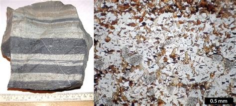 metamorphic textures thin section 10 2 classification of metamorphic rocks physical