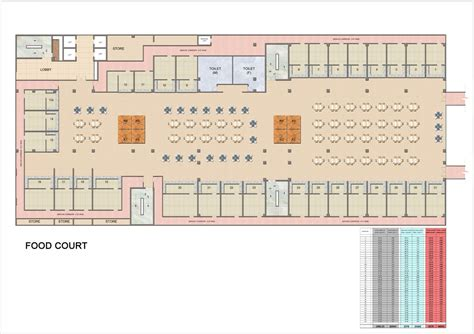 food court floor plan spectrum metro food court floor plan sector 75 noida