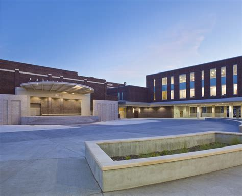 L Magnet High School by Baton Magnet High School Spaces For Learning And