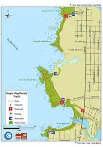 noyo headlands coastal trail northern coastal trails