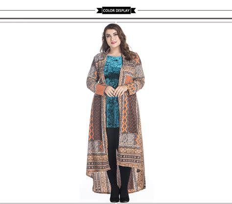 Jalabia Cardigan oversized womens arab coat vintage muslim outwear casual quality clothing plus size 2017
